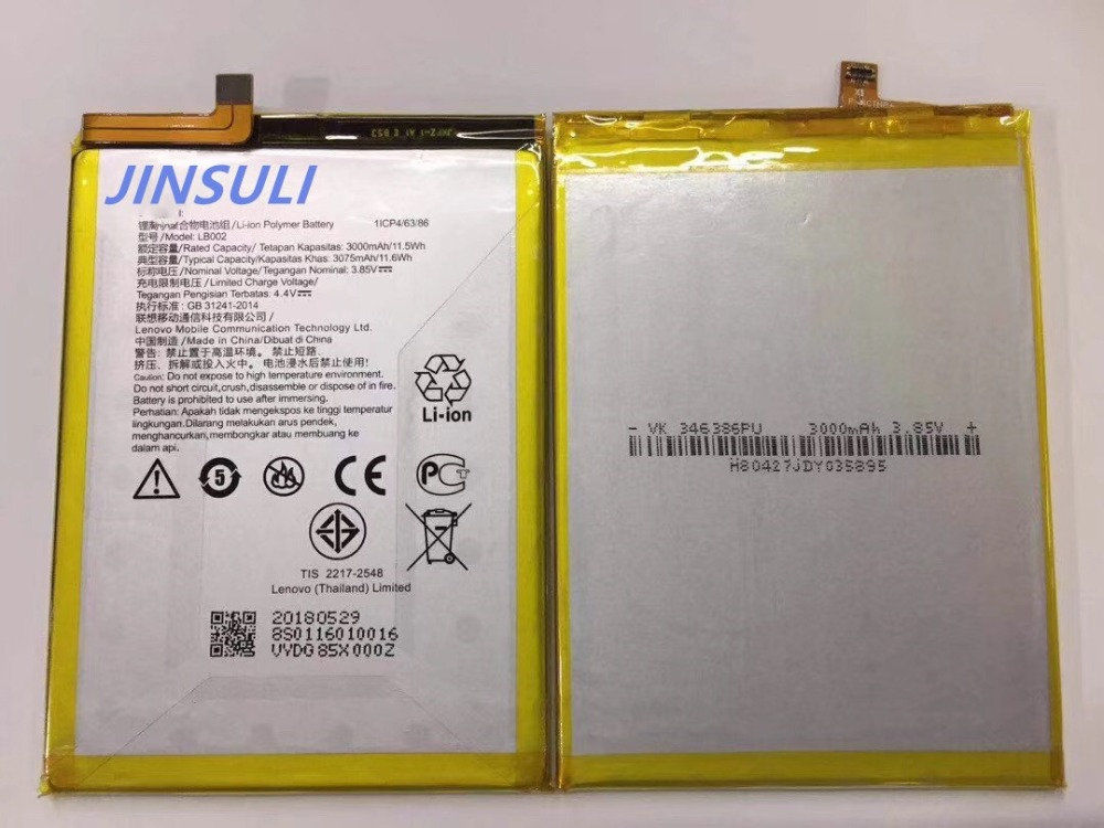 100% nouveau original pour Lenovo K520t S5 LB002 batterie 3000 mah batterie + code de suivi100% nouveau original pour Lenovo K520t S5 LB002 batterie 3000 mah batterie + code de suivi