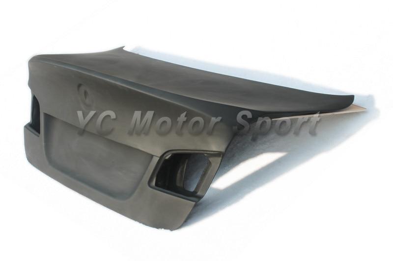 Car Accessories Carbon Fiber VRS CSL Style Trunk  Fit For 2010-2013 5 Series F10 F18 M5 Sedan Rear Bootlid