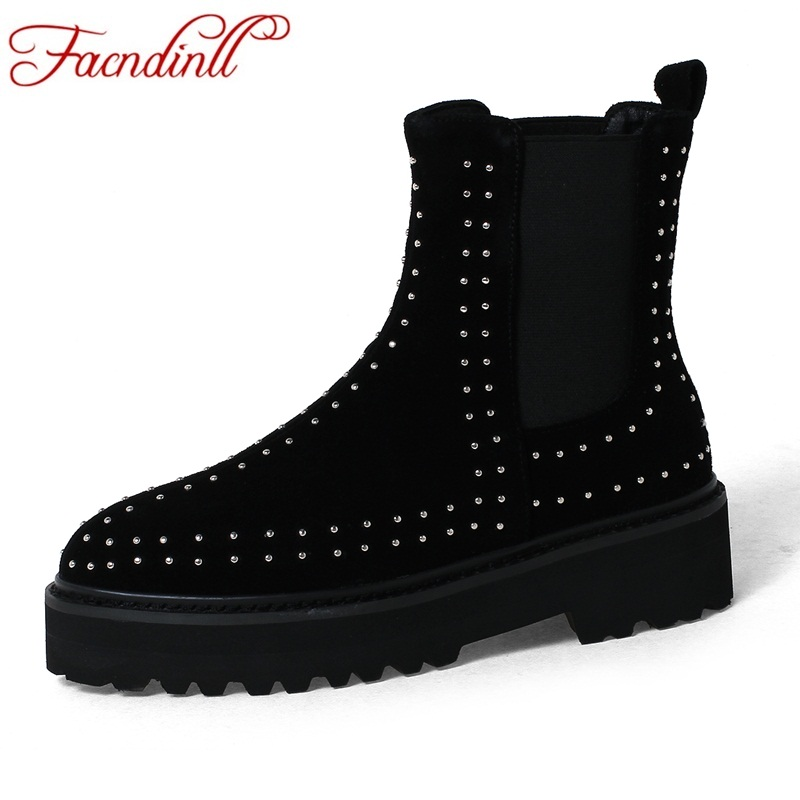 FACNDINLL new fashion women ankle boots shoes genuine leather high heels platform shoes woman zipper dress party riding boots phyanic platform gladiator sandals 2017 new casual wedge shoes woman summer women ankle boots side zipper party shoes phy5036
