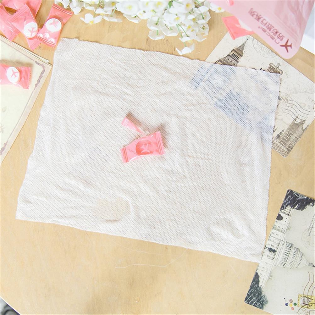50pcs/lot Compressed Cotton Disposable Towel Tablet