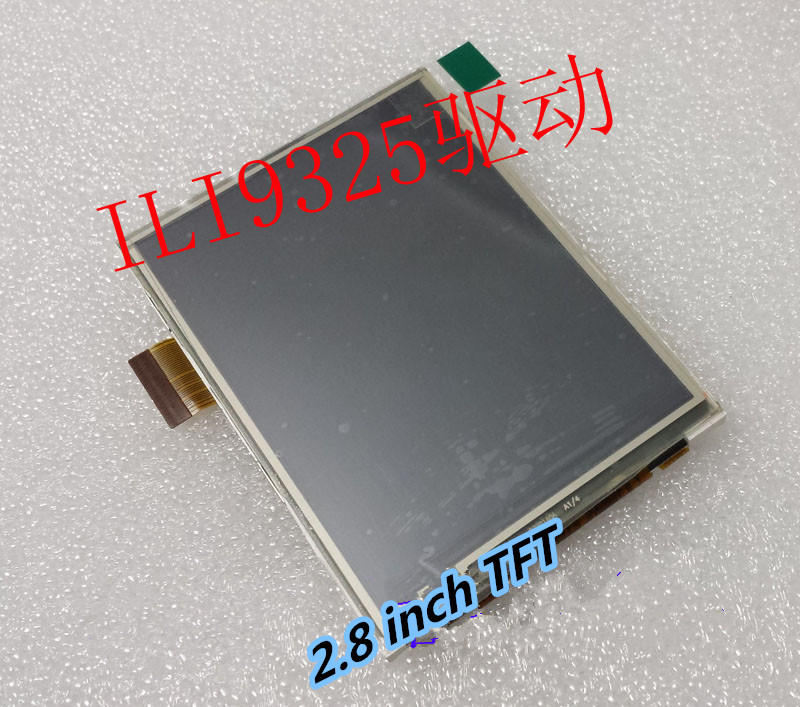 Noenname_null 2,8 Zoll 240*320 Tft-bildschirm Ili9325 Mit Touch Panel Unterstützt Jede Single-chip-lcd Display PüNktliches Timing Bildschirme Unterhaltungselektronik