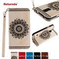 Returnda Бумажник Кожи Сальто Телефон Case для samsung galaxy note 5 7 S5 S7 S6 край край Кошелек Стенд Крышка Встроенный Карт слот