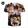 21 estilos! nueva harajuku 3D t-shirt de impresión personaje de Justin Bieber camiseta divertida camiseta de manga corta tops casual ropa para hombres/mujeres
