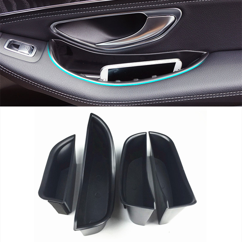 HIGH FLYING Interior Middle Console Armrest Storage Box Container Holder For Mercedes-Benz ML-Class 2012-2015 GL-Class 2013-2015 GLS GLE-Class GLE Coupe 2016 2017 A type