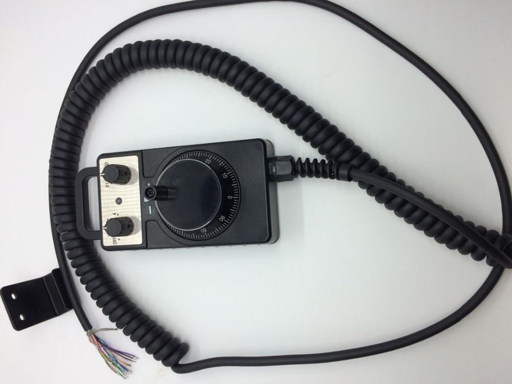 Volantino elettronico Pulse Router di CNC Mano Encoder 5 V 100PPR Per CNC ruota della macchina a mano all'ingrosso della fabbrica - 2
