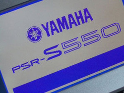 Para Yamaha PSR-S650 S550 S500 MM6 Original pantalla de teclado Original pantalla LCD