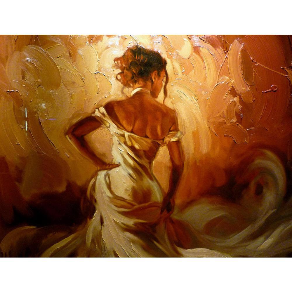Aliexpresscom  Buy Handmade Canvas Art Abstract Figure -9199