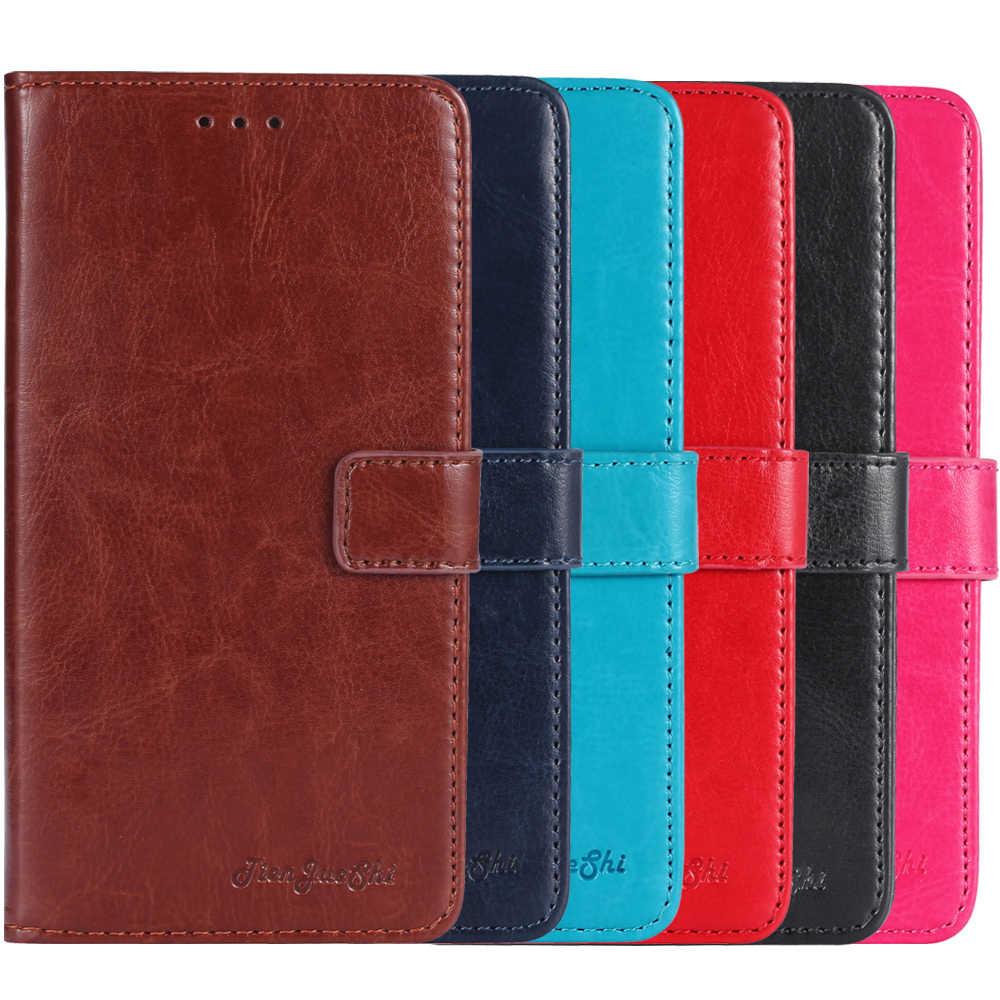 TienJueShi İş Vintage lüks deri Xgody D22 D25 D26 kitap standı kapak cüzdan Etui kılıf için Xgody D24 Pro d23