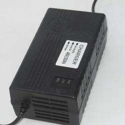 Wysokiej jakości 48V 17 20Ah 2.5A elektryczna ładowarka rowerowa/ładowarka do akumulatora kwasowo ołowiowego w Akcesoria do rowerów elektrycznych od Sport i rozrywka na