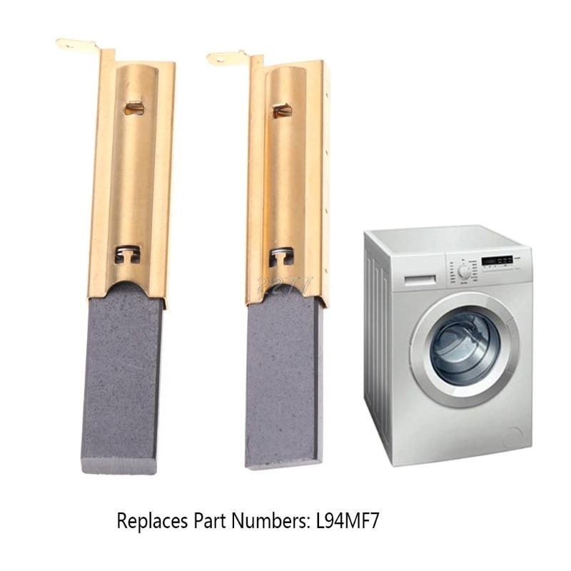 Brave 2pcs/set Washing Machine Motor Carbon Inserts Brushes L94mf7 For Siemens 5x13.5 Furniture Accessories May03 Dropshipping Furniture Accessories