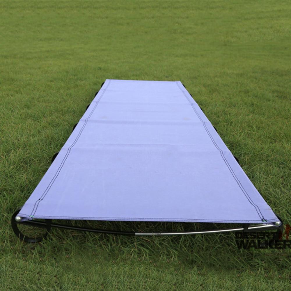 ФОТО Ultralight Aluminium alloy Folding Bed Portable Bed Outdoor Travel Kits Camping Mat free shipping