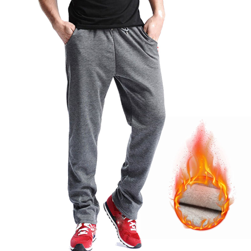 E-Baihui New Males Gyms Pants Mid Cotton Males's Sporting Exercise Health Pants Informal Sweatpants Jogger Pant Skinny Trousers Mj002