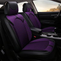 auto car seat protector cushion universal car seat covers set stripes decoration automotive accessories interior women girl 1833