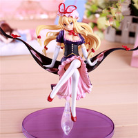 22CM Touhou Project Yakumo Yukari Sexy PVC Action Figure Collectible Model Toy 16