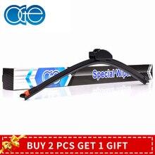 OGE +200% Life Wiper Blade Replacement Fit Standard J Hook U Arm, Replace Windscreen Rubber Refill Convenient