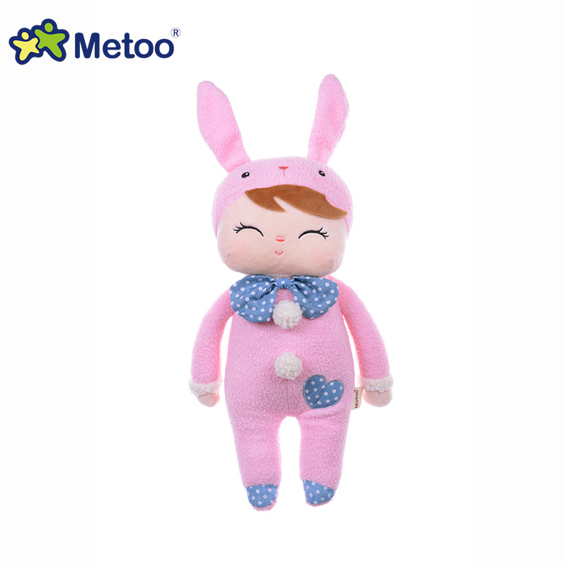 13 Inch Plush Sweet Cute Lovely Stuffed Baby Kids Toys for Girls Birthday Christmas Gift Angela Rabbit Girl Metoo Doll fashion bjd dolls zipper bag backpack for 18 inch bjd doll accessories toys for girls christmas birthday gift for kids toys