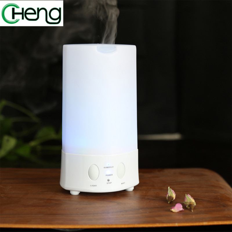 Portable colors changing Humidifier Essential Oil Diffuser Ultrasonic Mist Maker Nebulizer Aroma Diffuser Air Humidifier house crdc air humidifier ultrasonic 100ml aroma diffuser glass essential oil diffuser mist maker with 7 colors changing led light