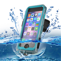 High Quality Underwater 10M Diving Case Waterproof Swim Surfing Photography Shell Cover With Armbrand For iPhoneX 8 7 6s Plus
