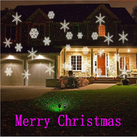 Premium Outdoor Lightme 100 240V 6W LED Waterproof Snowflake Light Park Garden Lights Christmas Garden Party