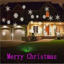 Premium Outdoor Lightme 100 – 240V 6W LED Waterproof Snowflake Light Park Garden Lights Christmas Garden Party Decorations