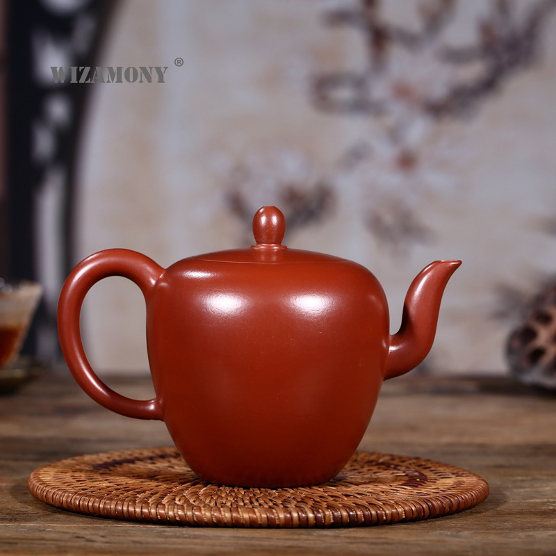 WIZAMONY Purple Clay tea set Zisha Dahongpao Ceramics Arts Beauty Shoulder Teapot Porcelain yixing Clay China