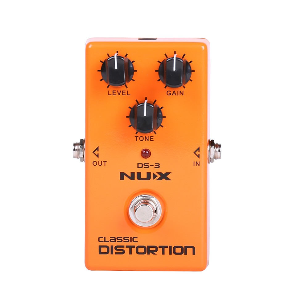 ФОТО Original Product NUX DS-3 Stomp Boxes Distortion/Overdrive DS-3 Classic Distortion True-Bypass