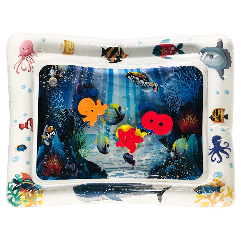 Water Mat for Baby Play Mat Carpet Inflatable Water Mat for Babies Tummy Time Inflatable Water Mat for Babies Ensory Stimulation (1)