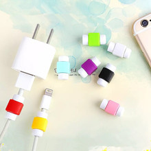 Silicone Digital Cable Protector Cord Protecotor Protective Sleeves Cable Winder Cover Usb Cable Protector