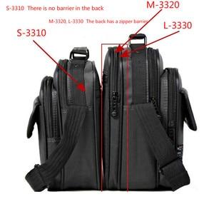 Image 4 - 높은 품질 서류 가방 남자 작은 메신저 가방 남자 방수 옥스포드 비즈니스 핸드백 여자 미니 어깨 가방 9.7 인치 Ipad