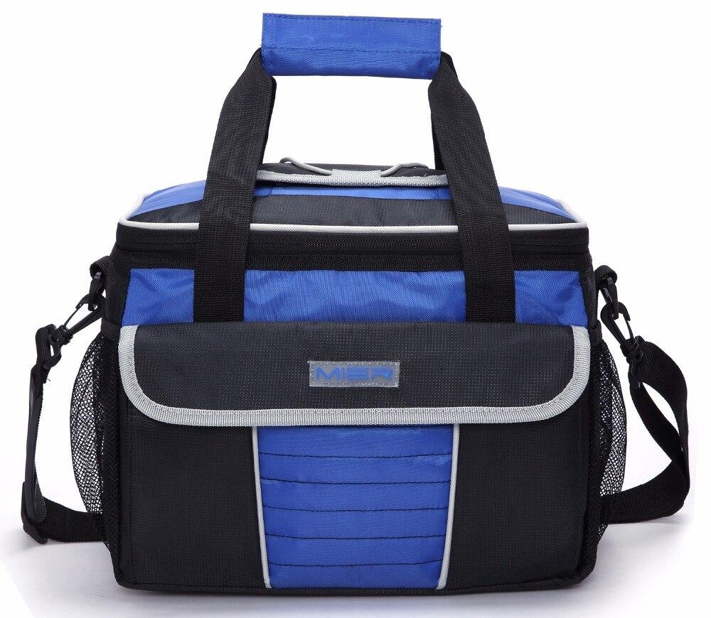 mier varios bolsos piquenique cooler tote macio saco fresco com tampa de acesso rapido grande isolado