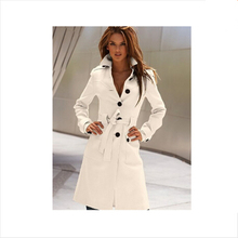 2015 Spring Style fashion slim fit long Trench new arrival solid buttoun Trench personality joker top quality korean Trench