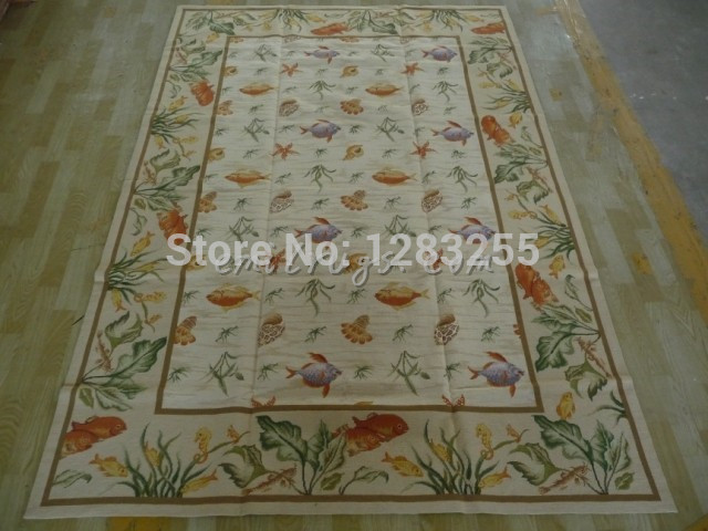 Antique Needlepoint Brick Carpet Hand-stitched French Style Woollen Carpet Antique Chinese Hand-made Wool Luxury Wool Rug CarpetAntique Needlepoint Brick Carpet Hand-stitched French Style Woollen Carpet Antique Chinese Hand-made Wool Luxury Wool Rug Carpet