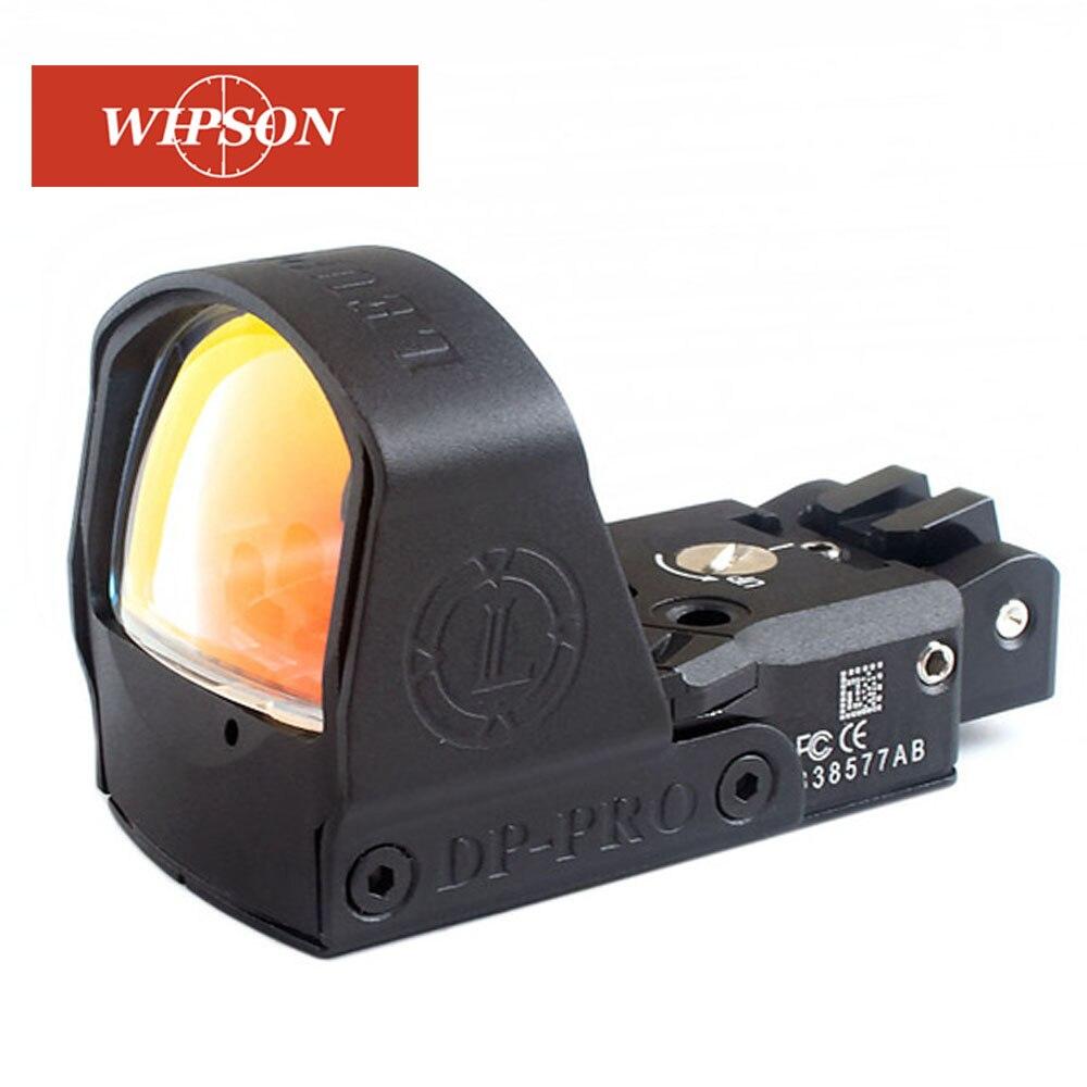 Wipson melhor lp dp pro airsoft 1911 1913 montagem visão reflex red dot sight tactical mirar escopos para tiro arma acessórios venda
