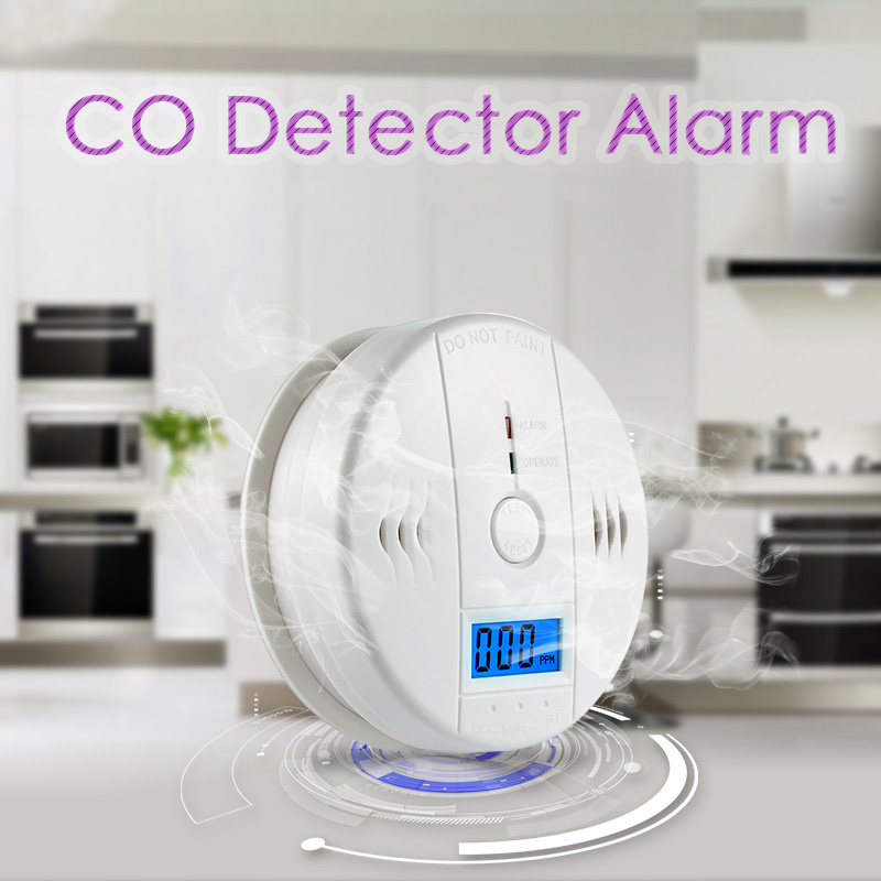 Mini Gas Sensor Digital LCD Alarm Carbon Monoxide Detector Portable CO Detector Meter for Home Carbon Monoxide Work Alone 85db digital gas analyzers lcd co gas detector carbon monoxide measurement alarm detector 0 2000ppm