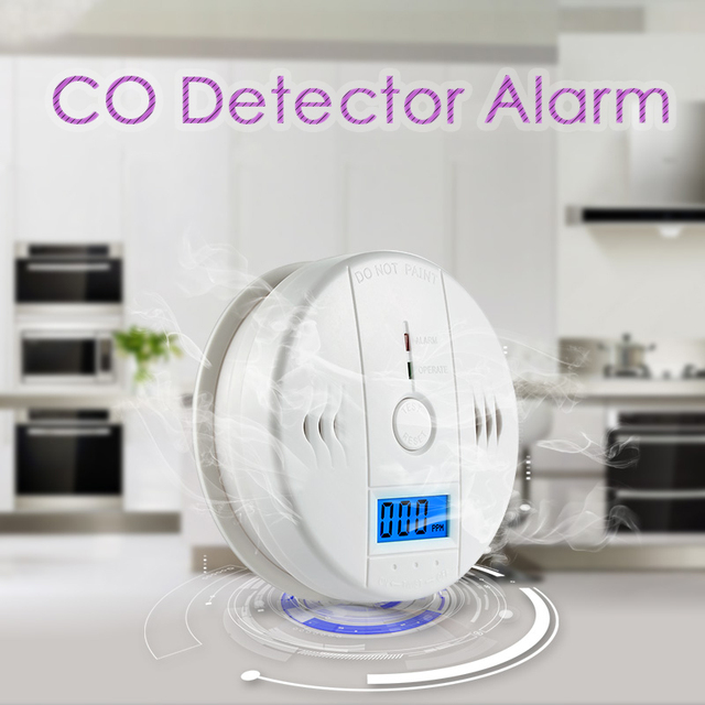 Mini Gas Sensor Digital LCD Alarm Carbon Monoxide Detector Portable CO Detector Meter for Home  Carbon Monoxide Work Alone 85db