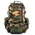 FGGS-50 Л 3 День Нападения Военных Рюкзаки Рюкзак сумка-зеленый
