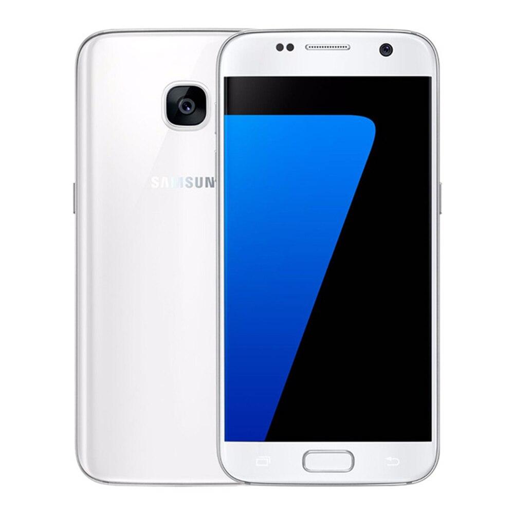 Débloqué Original Samsung Galaxy S7 G930F/S7 Bord G935F LTE Octa Core 5.1 12MP 4g 32g ROM GSM Android Mobile Téléphone S7 Téléphone