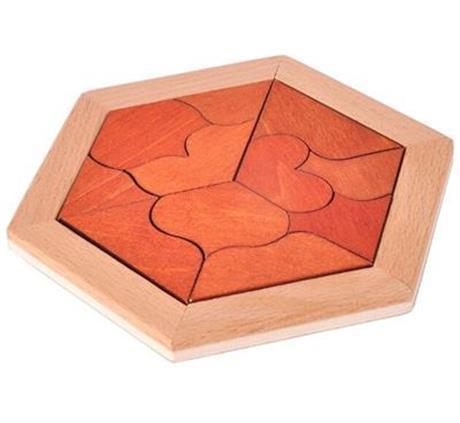 Us 449 25 Offclassic Iq Puzzle Mind Brain Teaser 2d 3d Wooden Puzzles Educational Game For Adults Children In Puzzles From Toys Hobbies On