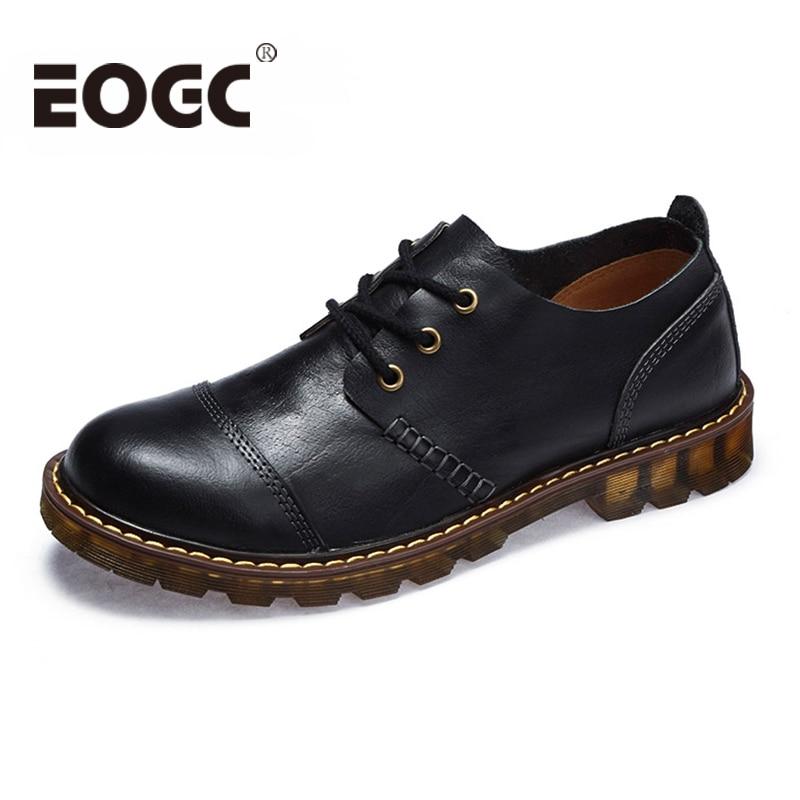Brand Handmade Pantofi din piele naturala naturala Pantofi Oxford - Pantofi bărbați