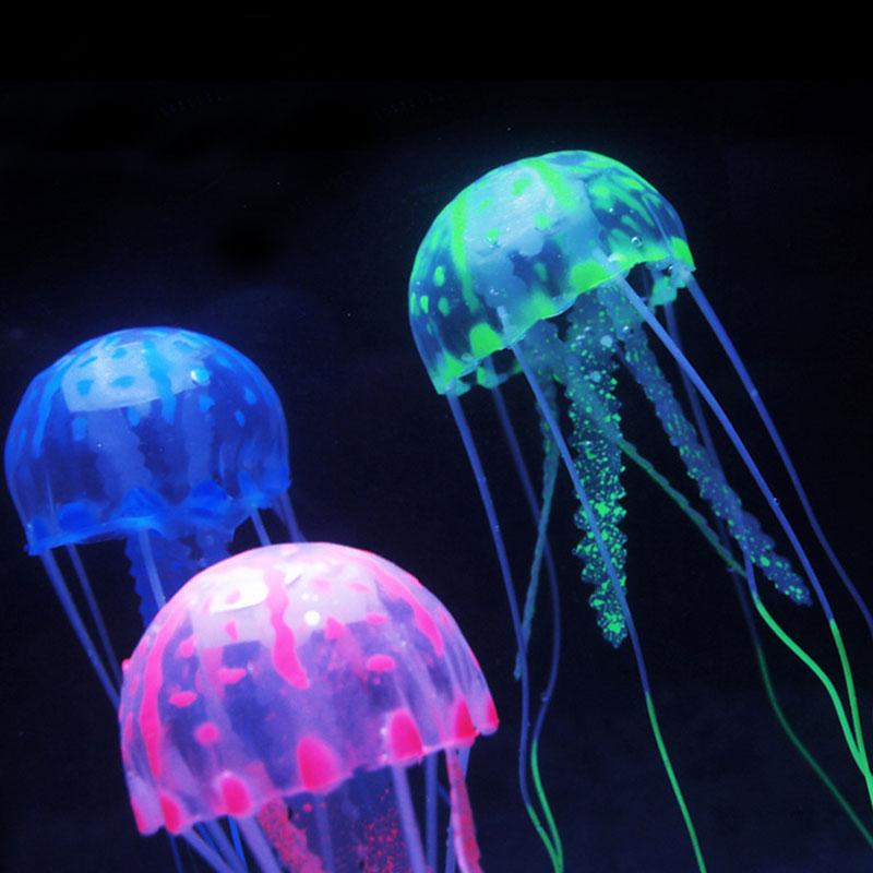 Popular artificial jellyfish aquarium buy cheap artificial for Fish in jellyfish