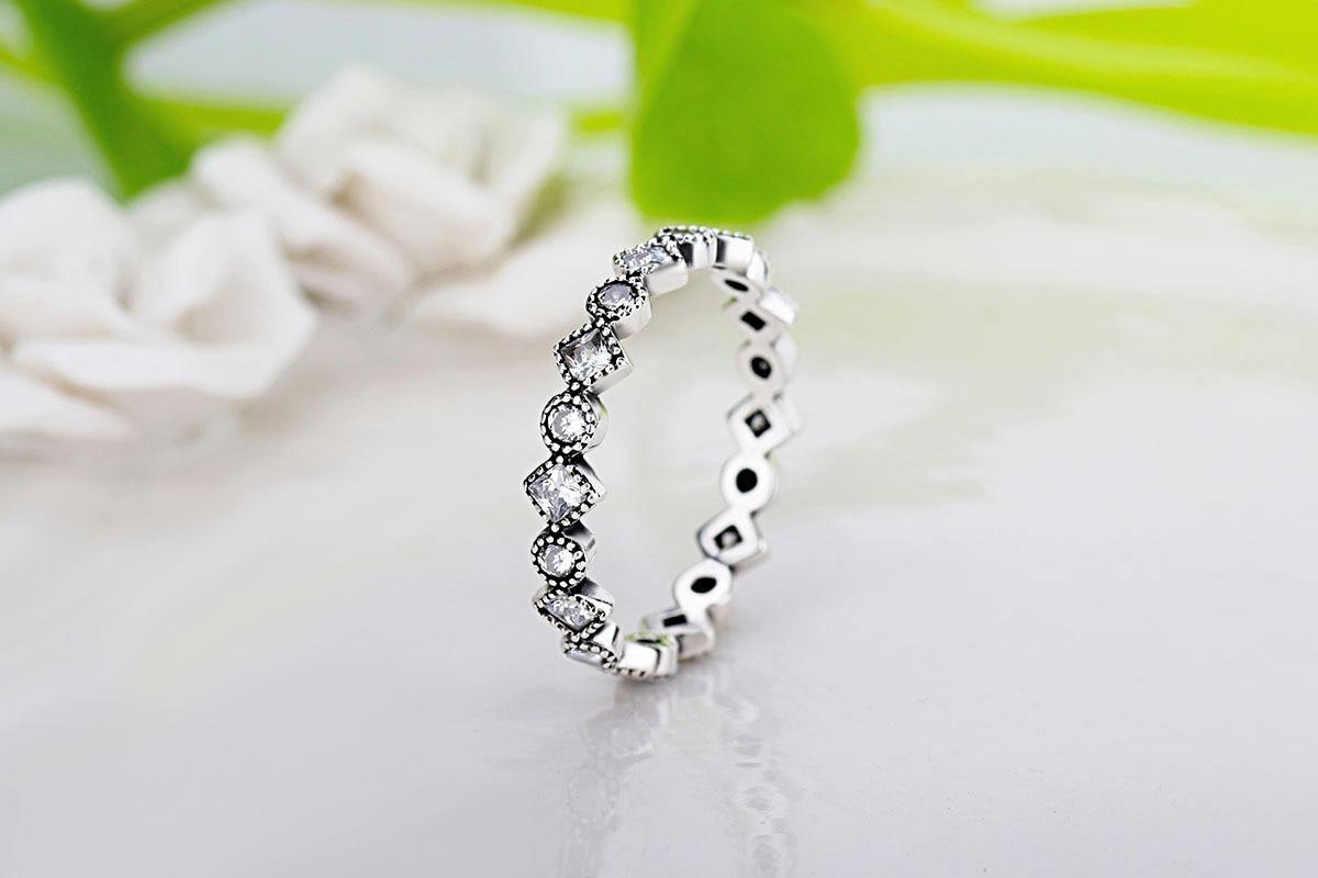 PR Denis cerámica boda anillo de diseño único con incrustaciones Zircon enorme delicado Cabochon suave anillos de compromiso