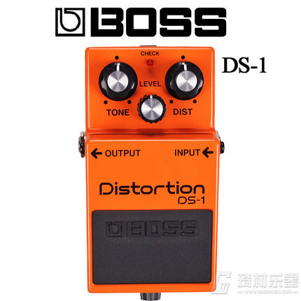 BOSS Audio DS1 Distortion Pedal, Distortion Effects Pedal for Guitar, Bass, Keyboard with Distortion, Level, and Tone Controls