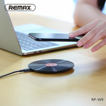 Wholesale Remax Wireless Charger for iPhone 8 8 Plus X USB Charging Board for Samsung Galaxy S9 S7 Edge Vinyl Record charger