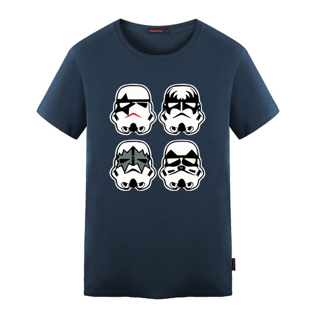 Star Wars Stormtrooper Printed T-shirt