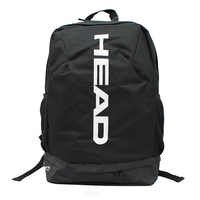 Tennis Racket Backpack Casual Adults Outdoor Sports Bag Can Hold 2 Rackets With Breathable Independent Shoes Bag