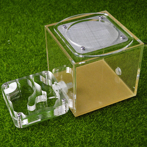 Ant Housing Nest Insect Cage Farms Feed Acrylic Display Box Ant Villa Small Pet Insect Cages Keep Moisture Long Time Ant Castle