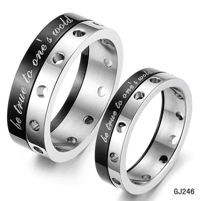 Aliexpresscom Buy JEWELRY RINGS for lover Stainless Steel band