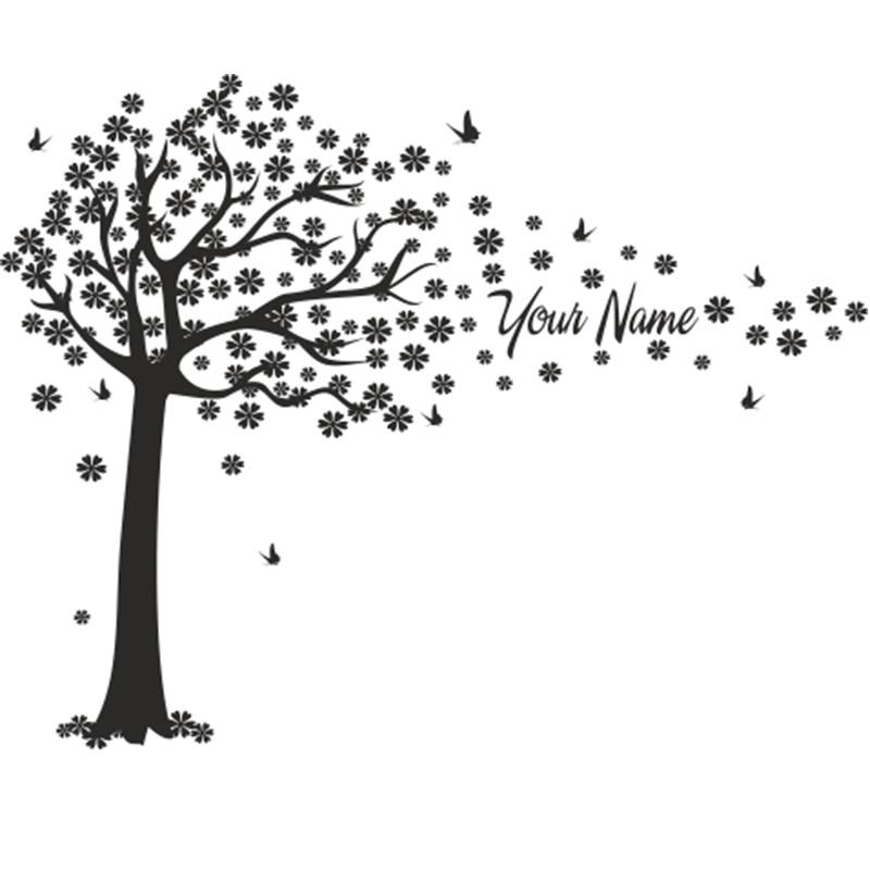 Ծառերն ու թիթեռները զարդարում են - Տնային դեկոր - Լուսանկար 3