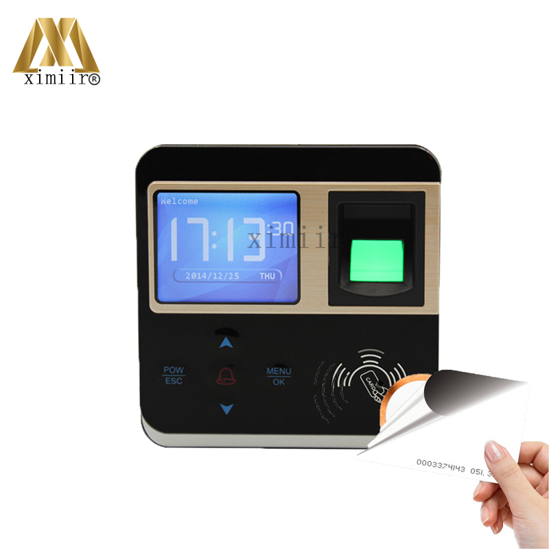 ZK F210 Biometric Fingerprint Time Attendance Fingerprint Access Control System For Door Security Access Control With ID Card
