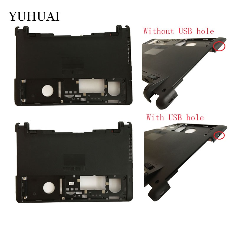 NEW Laptop Bottom Base Cove For ASUS X450 X450V X450VC X450C X450L Y481 A450 A450V F450 F450V Y481L X452E Black D case